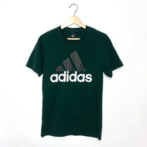 Adidas Spell Out Green Mens t-shirt Small